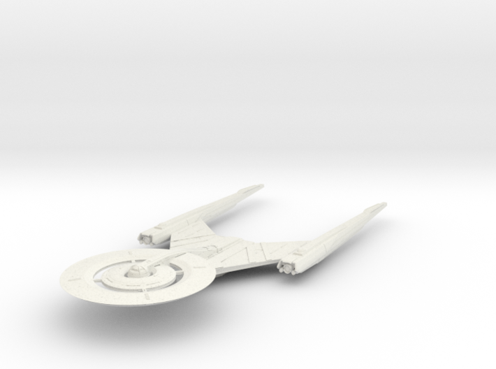 """USS Discovery V3 6.2"""" long 3d printed"""
