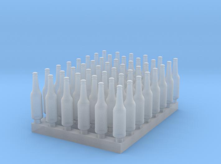 1:48 Beer/Soda bottles V3 - 48 ea 3d printed