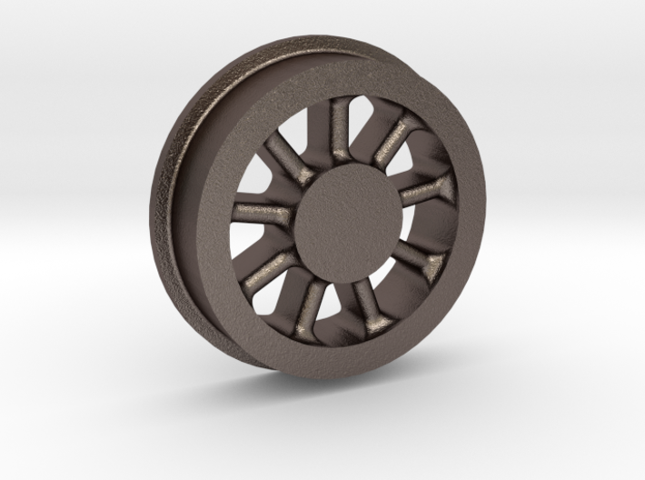 Climax Locomotive Spoked Wheel, 1:20.3 Scale 3d printed