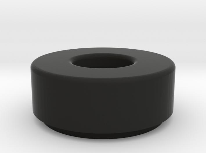 1x1 Round Tile w/ Bar Hole 3d printed