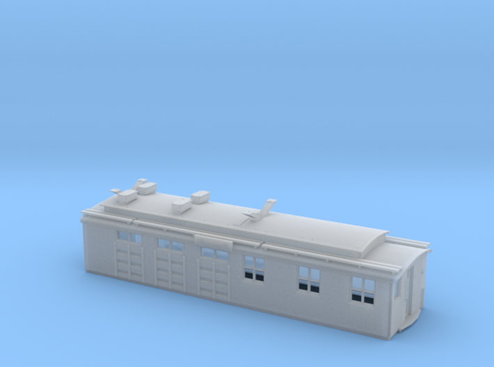 "Milwaukee Road Boxcab ""Bobtail"" Unit 3d printed"