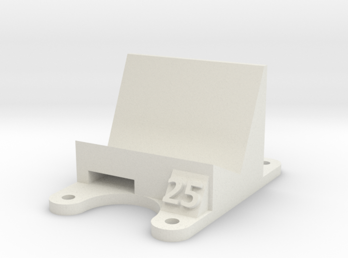 ZMR 250: 25 Degree Action Cam Mount 3d printed