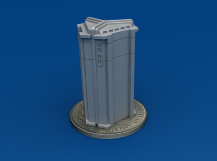 4-Pack of Star Wars Loot Crate Wargaming Terrain 3d printed Scaled to 30mm tall