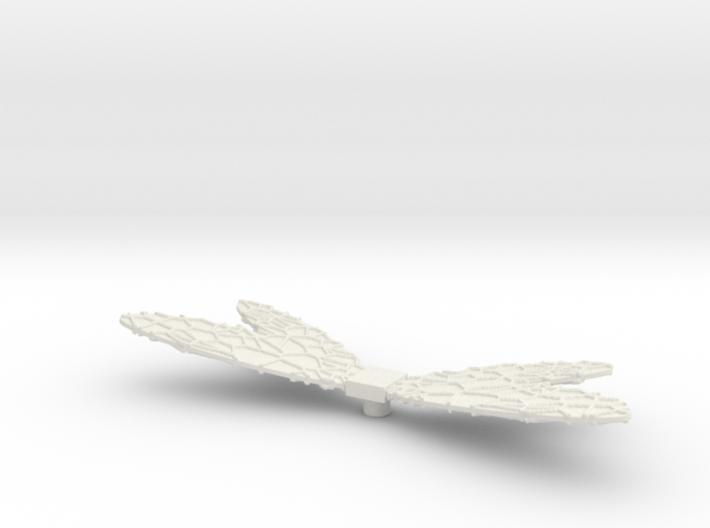 Galactic Mutant Wings 3d printed