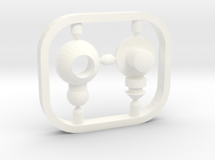 Wrist Joint Replacement for Myth Cloth Action Figu 3d printed