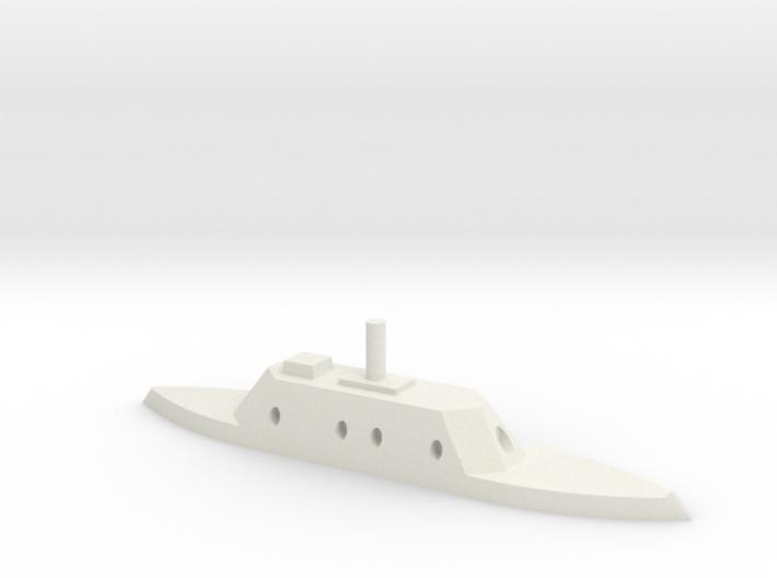 CSS Charleston 1/600 3d printed