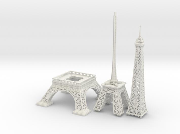 Eiffel Tower (1:2000) 3d printed