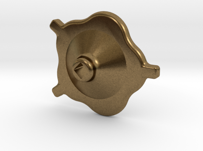 "1.5"" scale South African Small Valve Handwheel 3d printed"