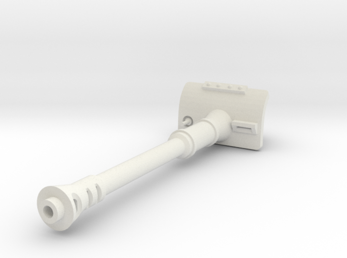 120mm Cannon (Extended Mantlet) 3d printed