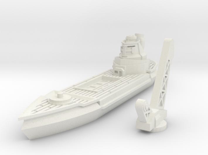 Albatros Class Repair Cruiser 3d printed
