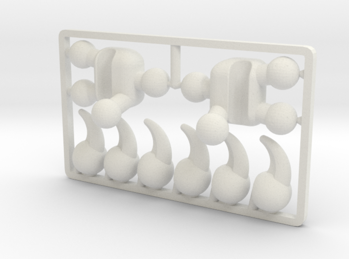Creature Talon Set for ModiBot 3d printed Creature Talon Set for ModiBot