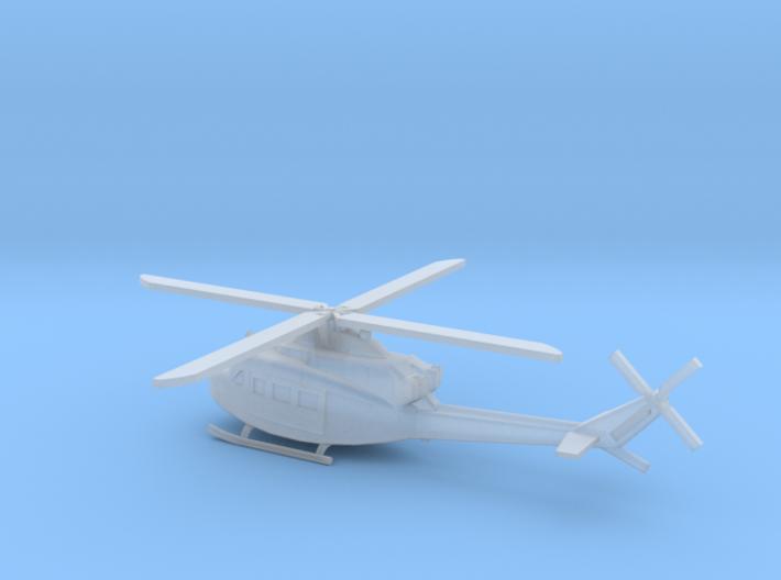 1/350 Scale UH-1Y Model 3d printed