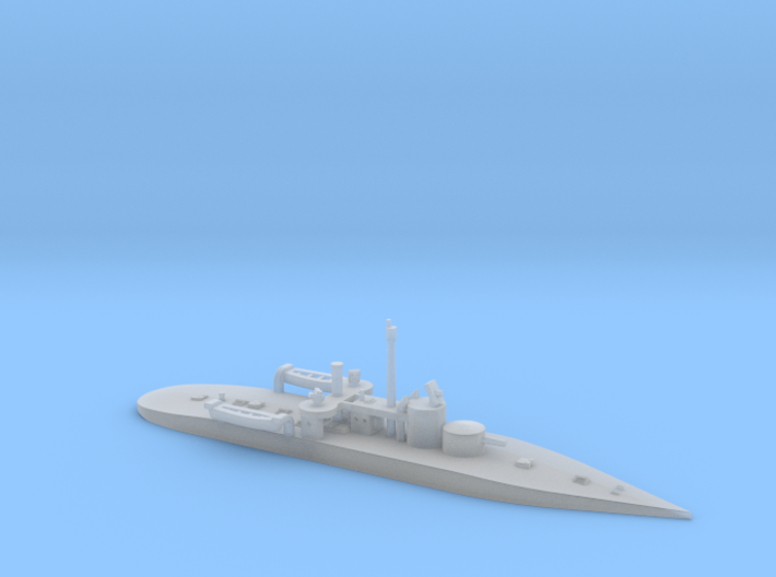 1/1200th scale SMS Leitha (1894) 3d printed
