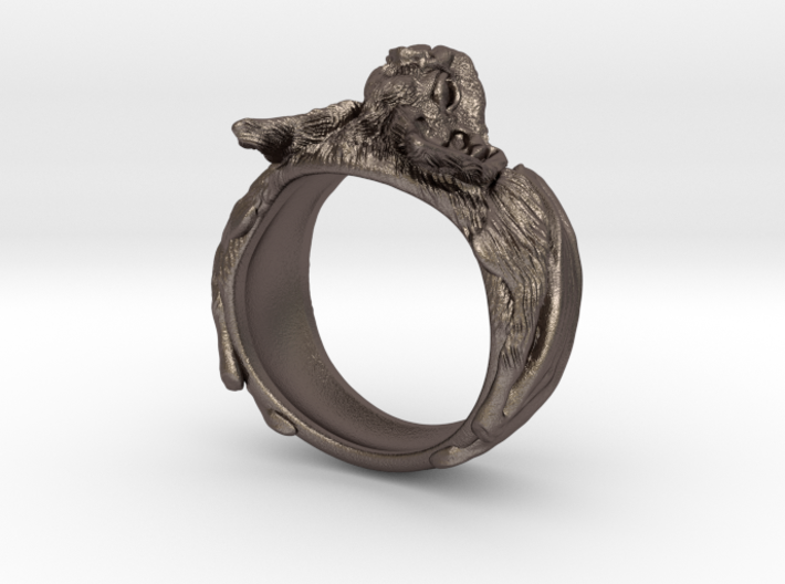Lovely Vampire Bat Ring (PGBMZK46H) by AlteJewellers DS71