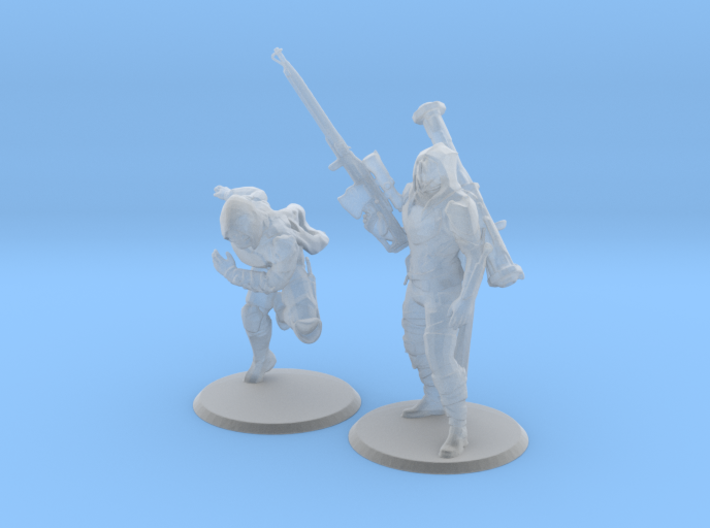 Gunslinger Duo 3d printed