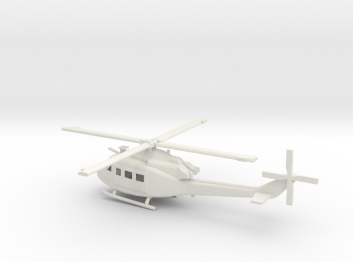 1/87 Scale UH-1Y Model  3d printed