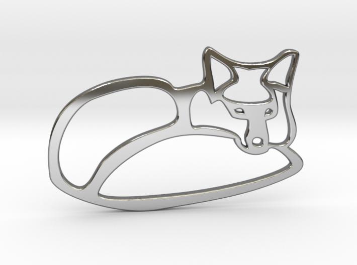fox 3d printed