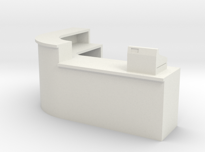 1:64 Shop Counter 3d printed