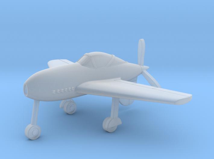 (1:285) Messerschmitt Me 334 3d printed