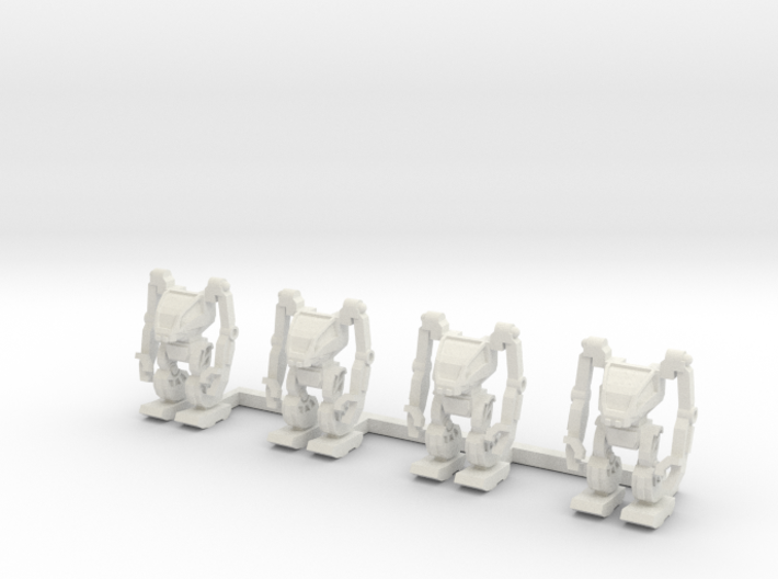 AMP Suit 1 to 285 non-combat standing 4 pack 3d printed