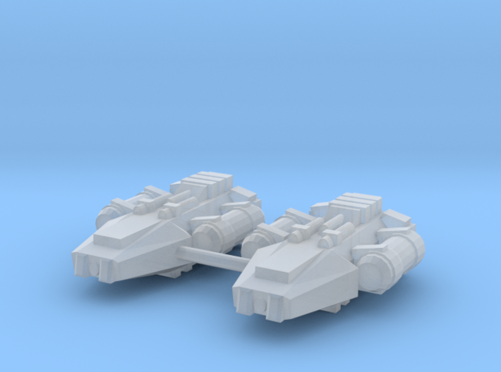 1/1000 Scale Earther Basic Scouts 3d printed