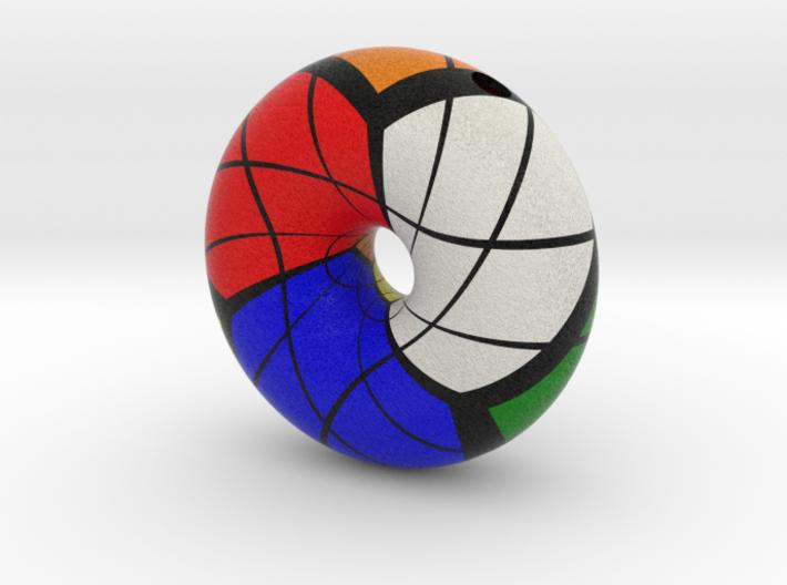 Torus Rubik 3d printed