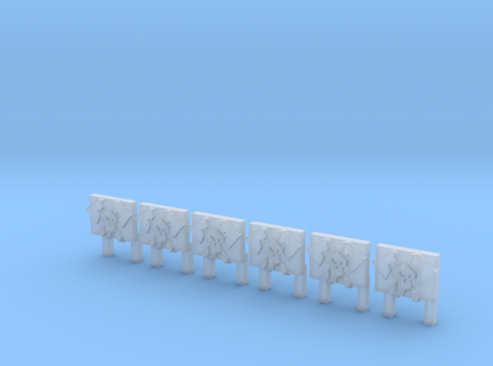 Banners Style 2 (6) 3d printed