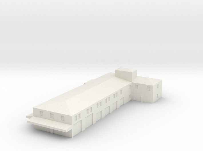 Airport Fire Station 3d printed
