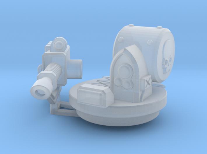 LaserCannon Rhinoceros Weapon 3d printed