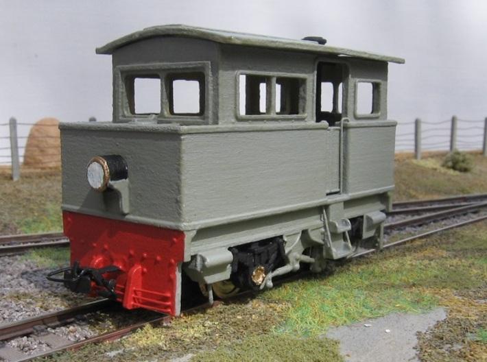 00n3 Atkinson Walker Steam Tractor 3d printed