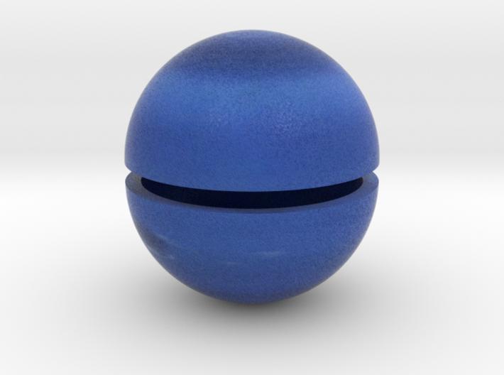 Neptune (Bifurcated) 1:1.5 billion 3d printed