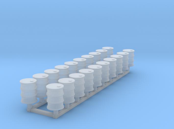 55 gal drums Z scale 3d printed 20 55 gal drums