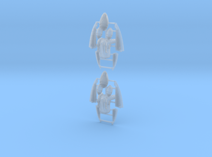 Eldar Corsair Jump Packs (set of 2) 3d printed