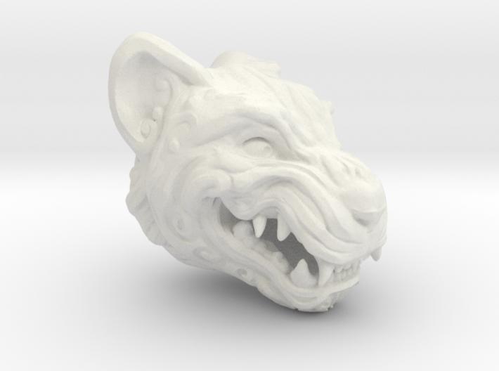 Oni-Tiger Miniature Decorative Noh Mask 3d printed