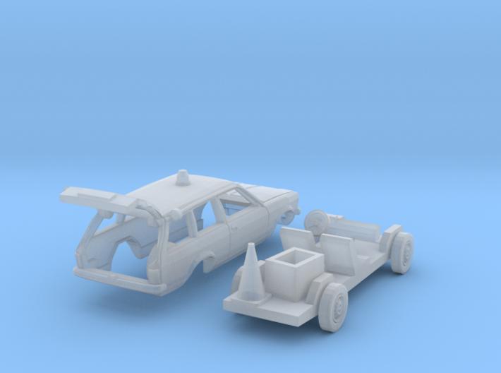 Opel Kadett Straßenwacht (N 1:160) 3d printed