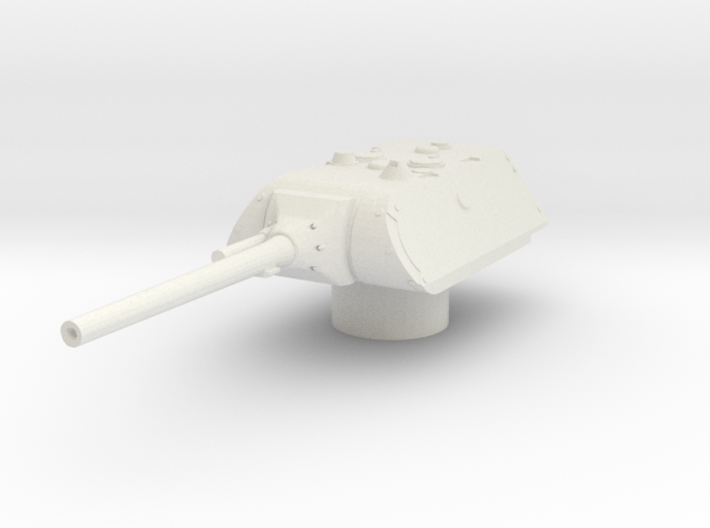 maus turret for E100 scale 1/100 3d printed