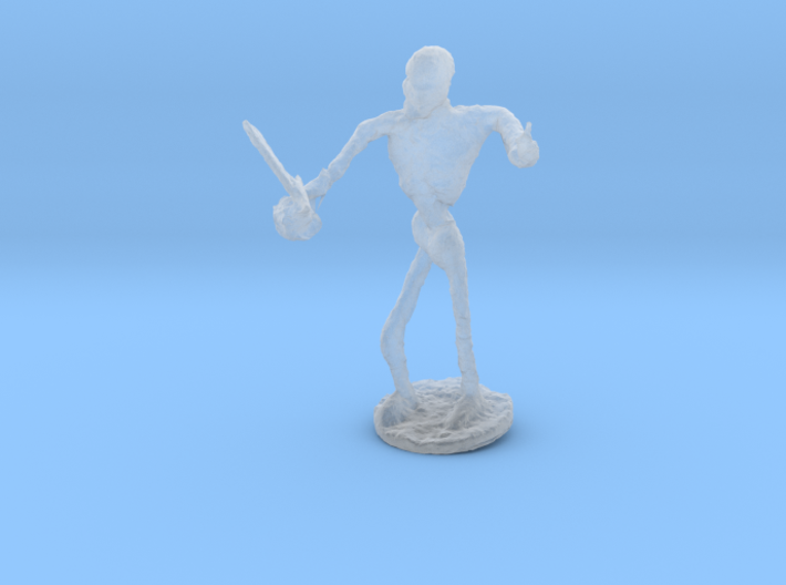 Skeleton with Attitude 3d printed