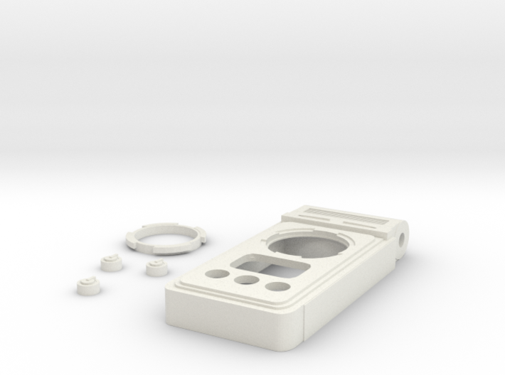 Discovery Communicator body, buttons, and bezel 3d printed