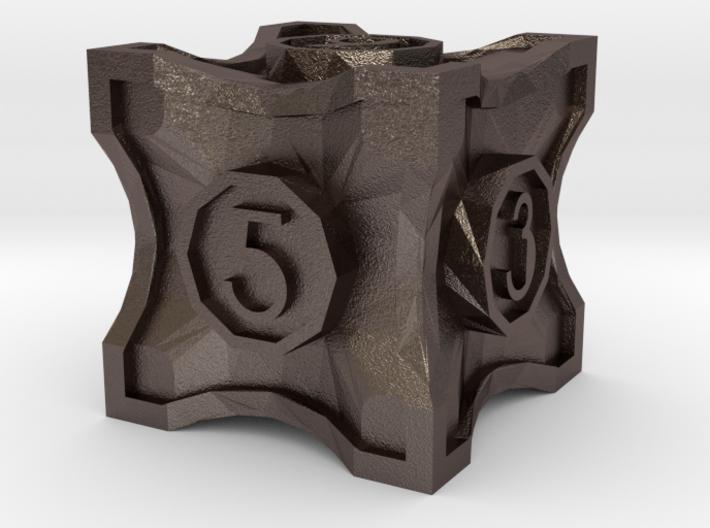 D6 Balanced - Art Deco 3d printed