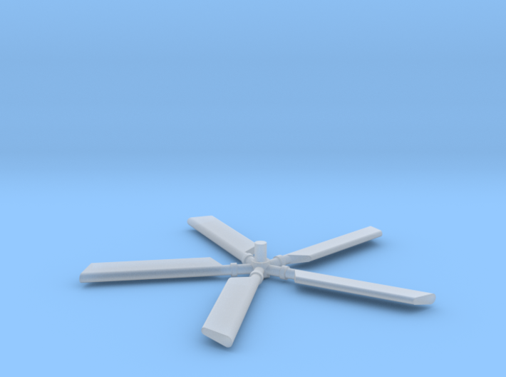 HH3-144scale-06-TailRotor with Blades 3d printed