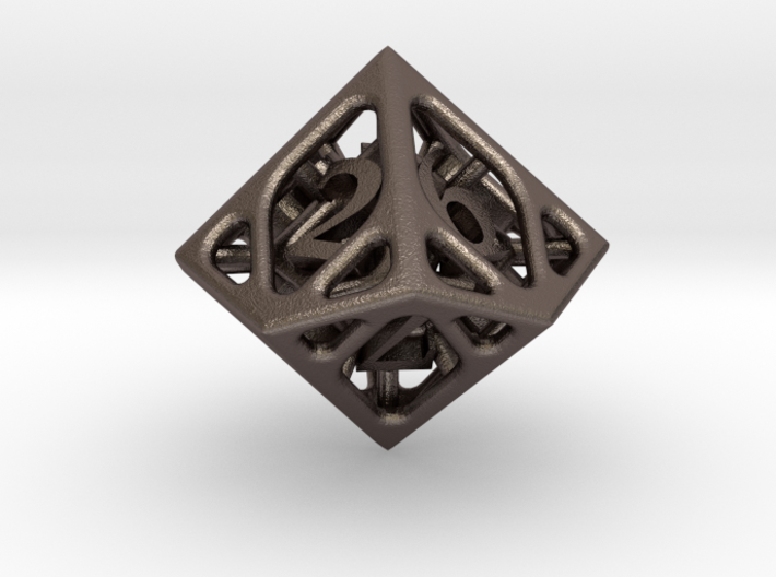 Cage d10 3d printed