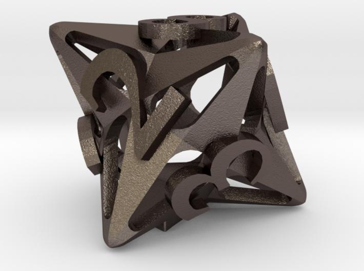 Pinwheel Die8 3d printed