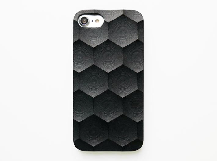 iPhone 7 & 8 case_Hexagon 3d printed
