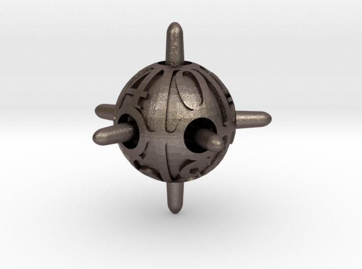 Sputnik Die10 3d printed