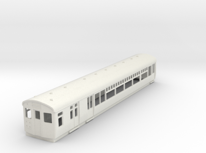 O-87-lner-lugg-3rd-motor-coach 3d printed