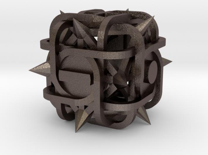 Fudge Thorn d6 3d printed