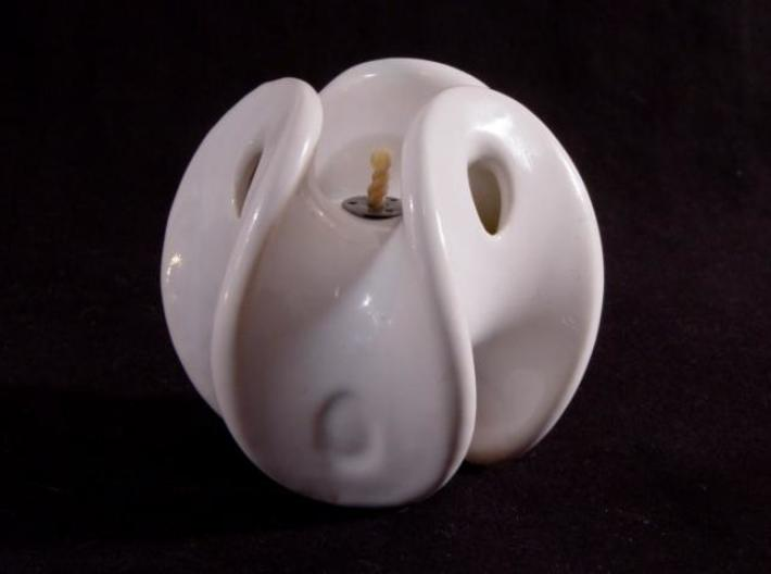 Enneper Oil Lamp 3d printed Ready to light