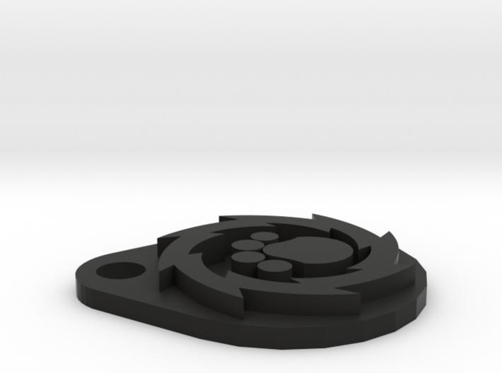 Pup Wheel 3d printed