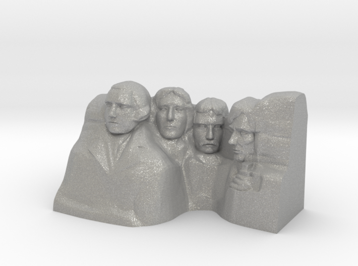 Mount Rushmore Monument 3d printed