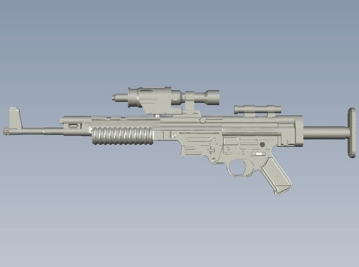 1/12 scale BlasTech A295 Star Wars V blasters x 5 3d printed